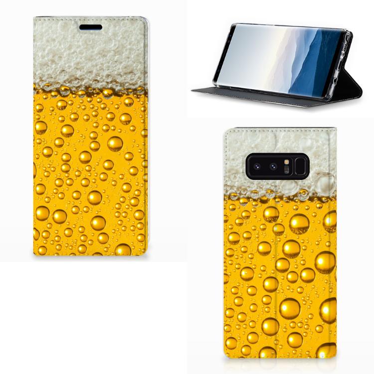 Samsung Galaxy Note 8 Flip Style Cover Bier