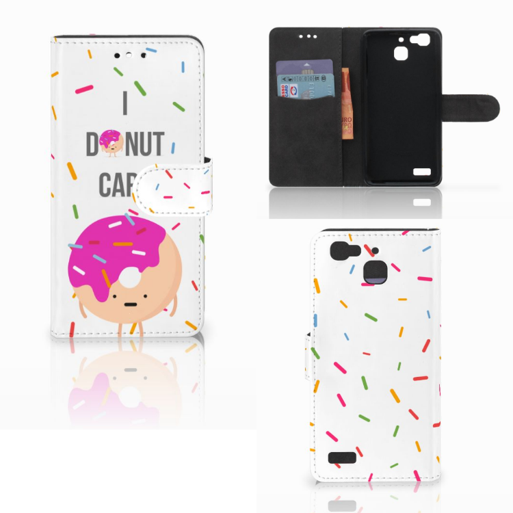Huawei P8 Lite Smart (GR3) Book Cover Donut Roze