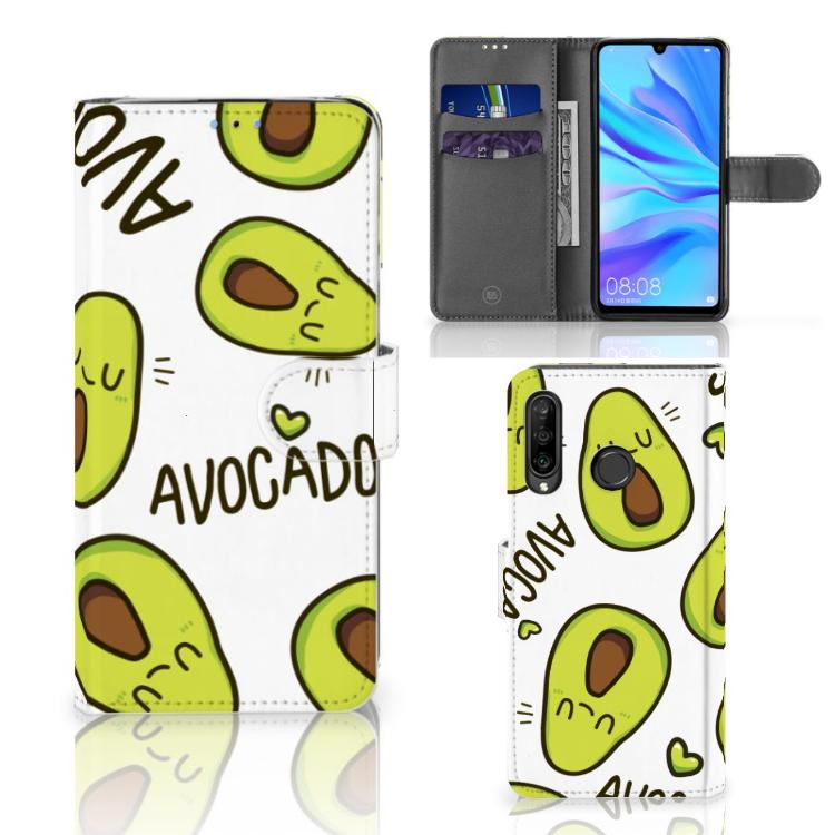 Huawei P30 Lite (2020) Leuk Hoesje Avocado Singing