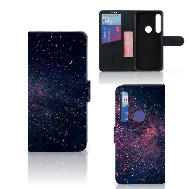 Motorola Moto G8 Plus Bookcase Stars