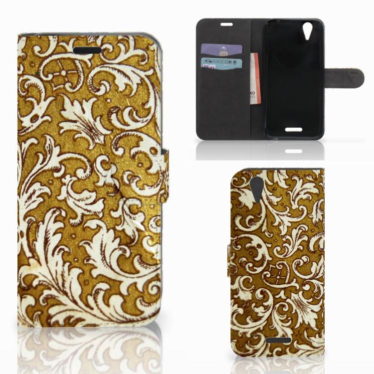 Wallet Case Acer Liquid Z630 | Z630s Barok Goud
