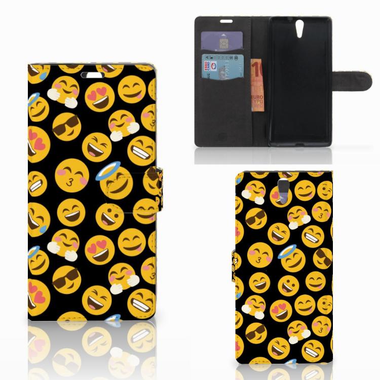 Sony Xperia C5 Ultra Telefoon Hoesje Emoji