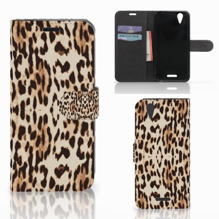 Acer Liquid Z630 | Z630s Telefoonhoesje met Pasjes Leopard