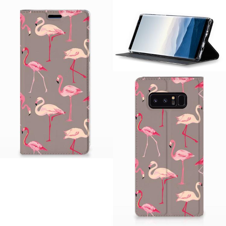 Samsung Galaxy Note 8 Hoesje maken Flamingo