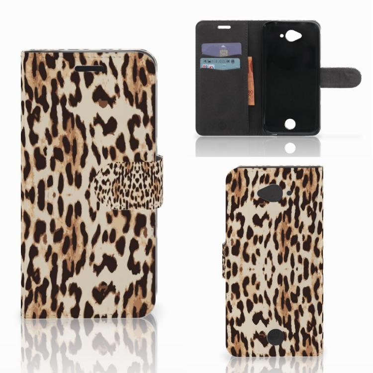 Acer Liquid Z530 | Z530s Telefoonhoesje met Pasjes Leopard