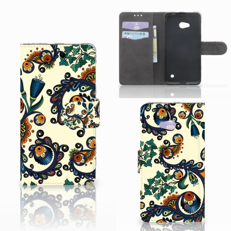 Wallet Case Microsoft Lumia 640 Barok Flower