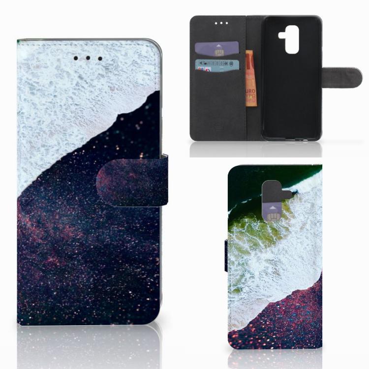 Samsung Galaxy A6 Plus 2018 Bookcase Sea in Space