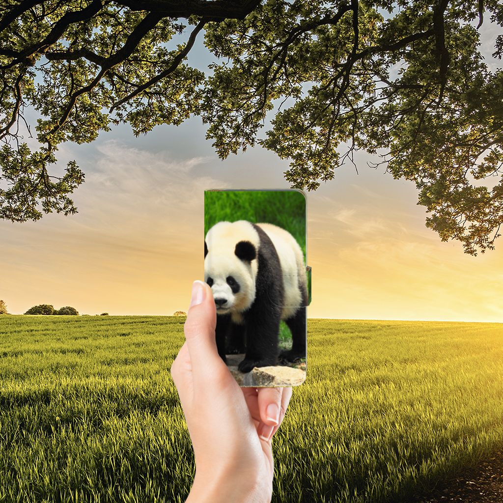 Google Pixel Telefoonhoesje met Pasjes Panda