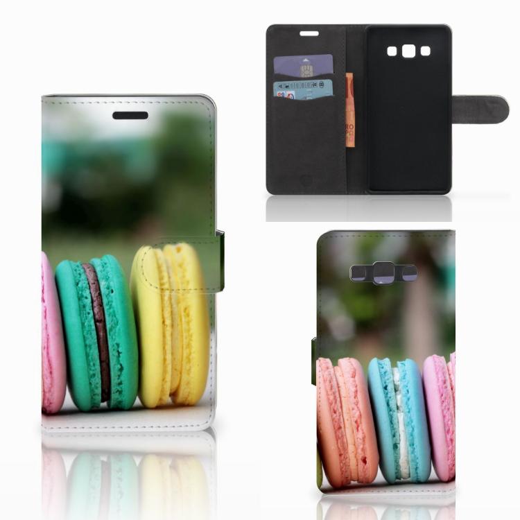 Samsung Galaxy A7 2015 Book Cover Macarons