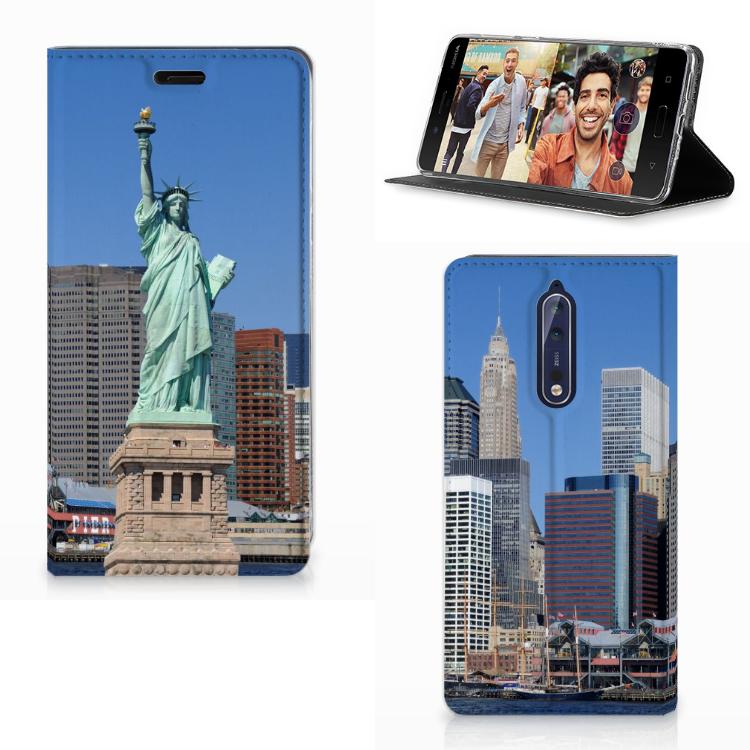 Nokia 8 Uniek Design Hoesje New York