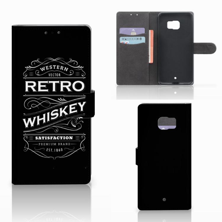 HTC U Ultra Book Cover Whiskey