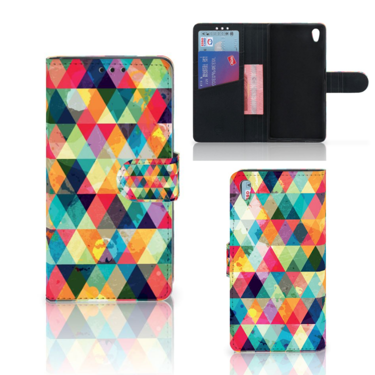 Sony Xperia Z5 | Z5 Dual Telefoon Hoesje Geruit