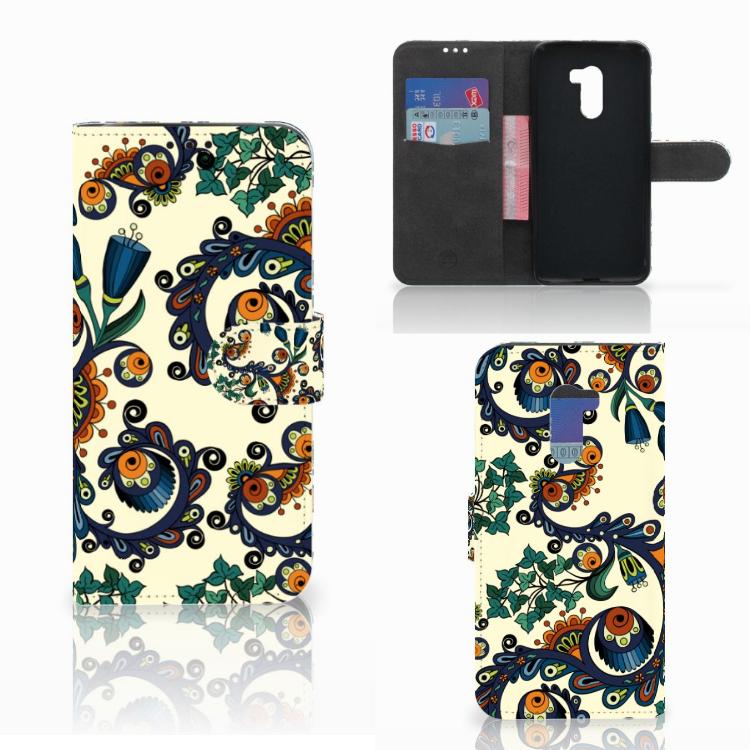 Wallet Case Xiaomi Pocophone F1 Barok Flower