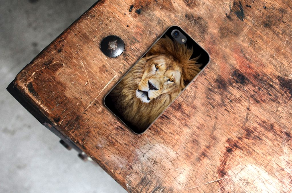 Apple iPhone 7 | 8 TPU Hoesje Leeuw