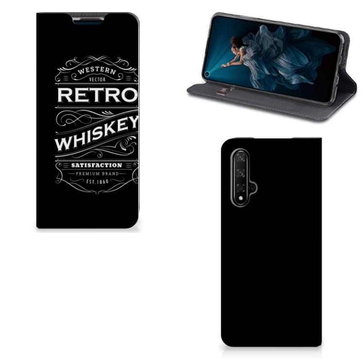 Honor 20 | Huawei Nova 5T Flip Style Cover Whiskey