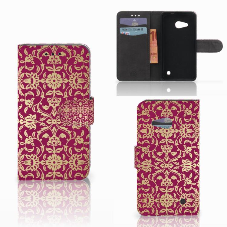 Wallet Case Microsoft Lumia 550 Barok Pink