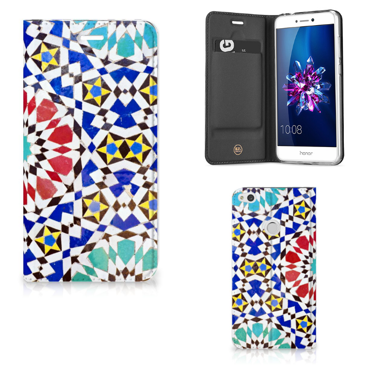 Huawei P8 Lite 2017 Standcase Mozaïek