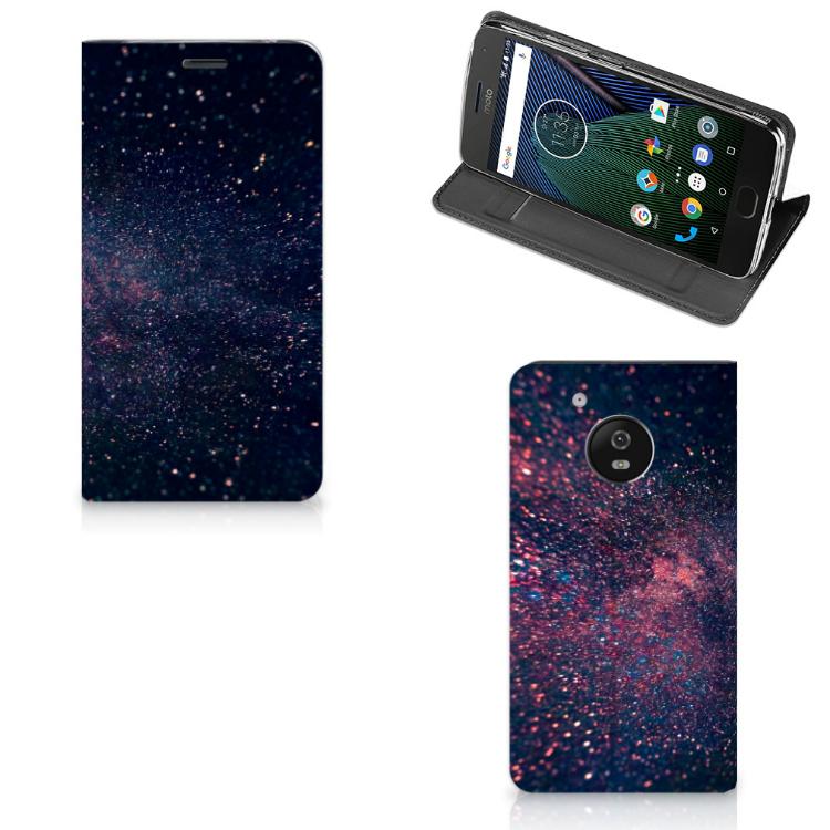 Motorola Moto G5 Stand Case Stars