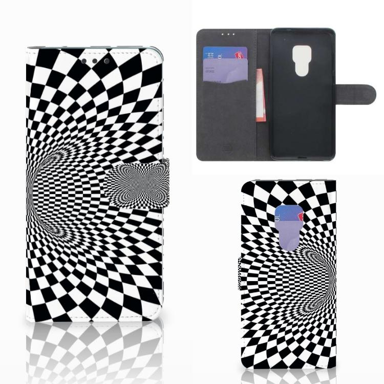 Huawei Mate 20 Bookcase Illusie