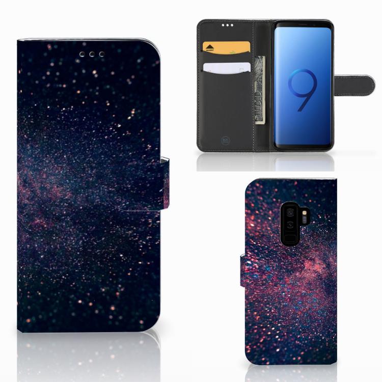 Samsung Galaxy S9 Plus Bookcase Stars
