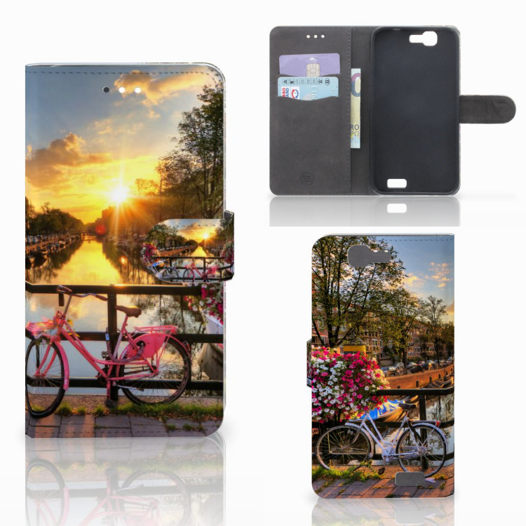 Huawei Ascend G7 Flip Cover Amsterdamse Grachten