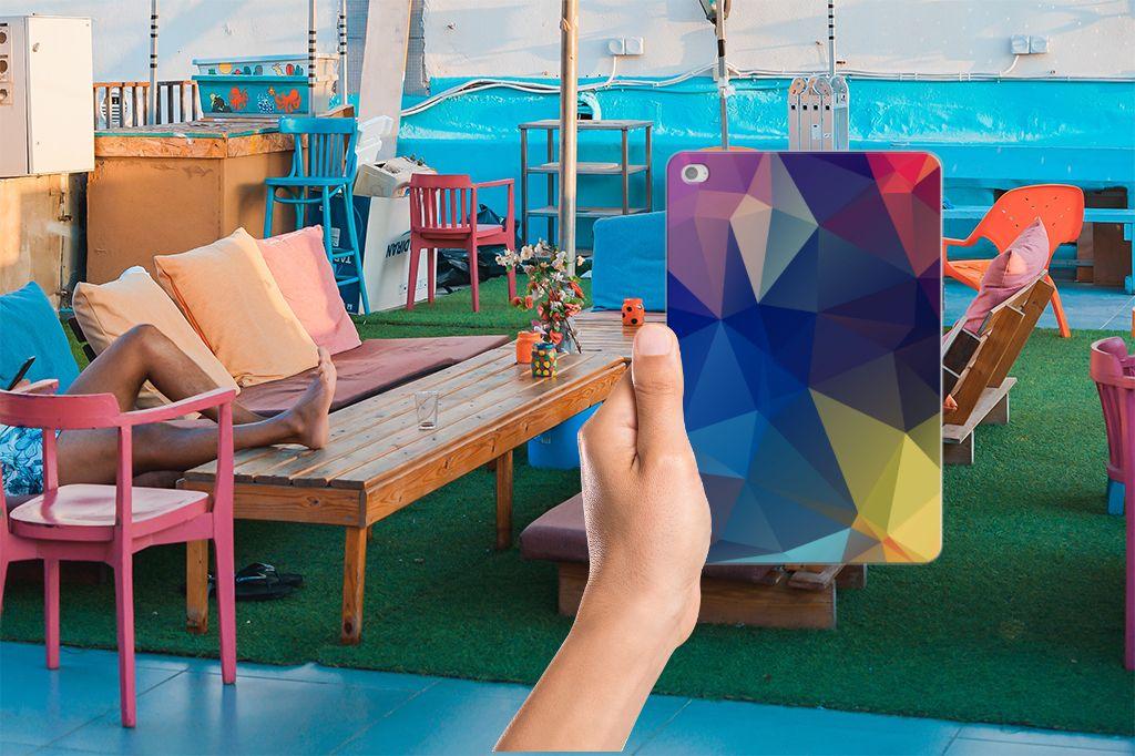 Apple iPad Mini 4 | Mini 5 (2019) Back Cover Polygon Dark