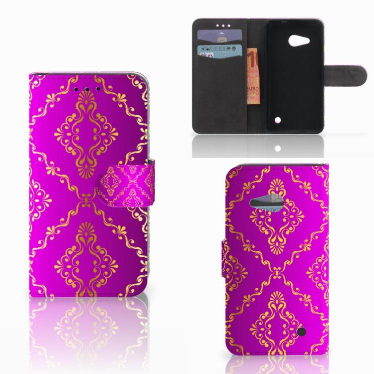 Wallet Case Microsoft Lumia 550 Barok Roze