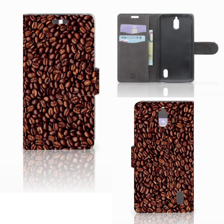 Huawei Y625 Book Cover Koffiebonen
