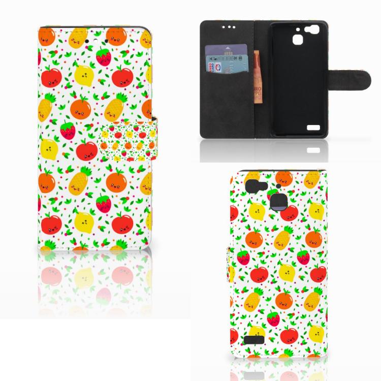 Huawei P8 Lite Smart (GR3) Book Cover Fruits