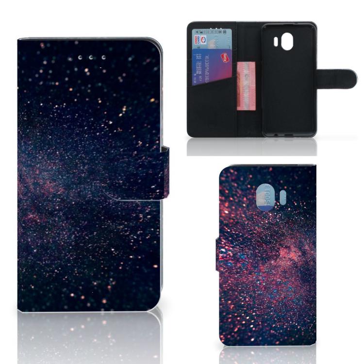 Samsung Galaxy J4 2018 Bookcase Stars