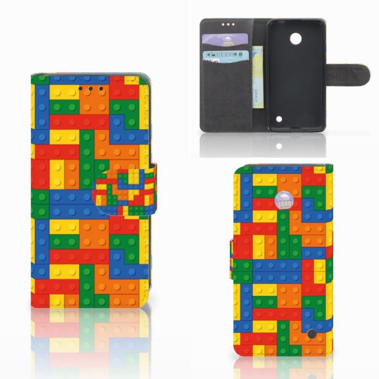 Nokia Lumia 630 Telefoon Hoesje Blokken