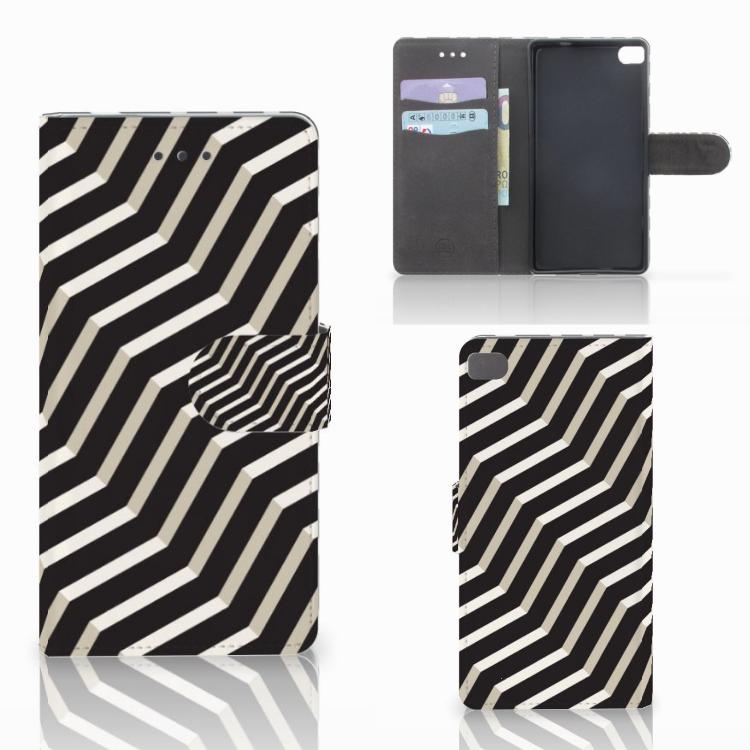 Huawei P8 Bookcase Illusion