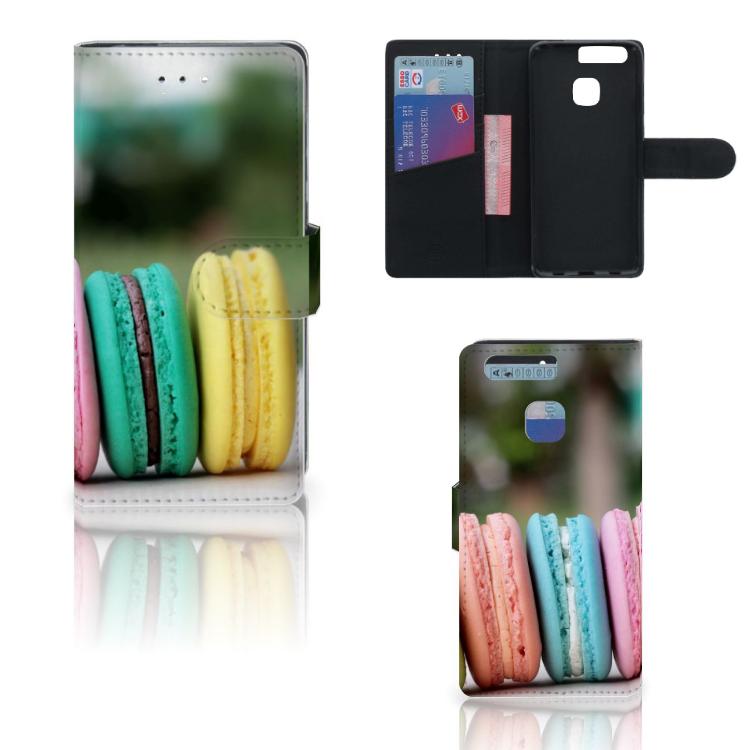 Huawei P9 Book Cover Macarons
