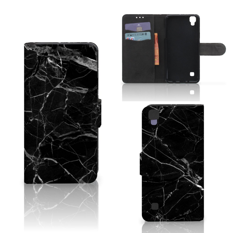LG X Style Bookcase Marmer Zwart