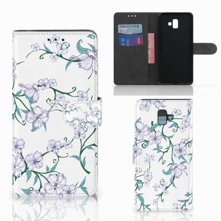 Samsung Galaxy J6 Plus (2018) Uniek Hoesje Blossom White