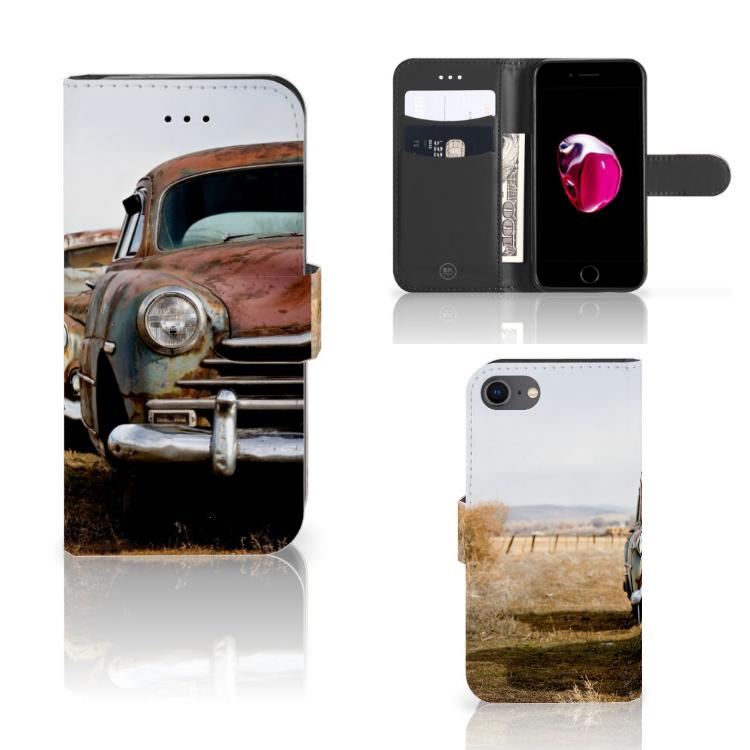 iPhone 7 | 8 | SE (2020) Telefoonhoesje met foto Vintage Auto
