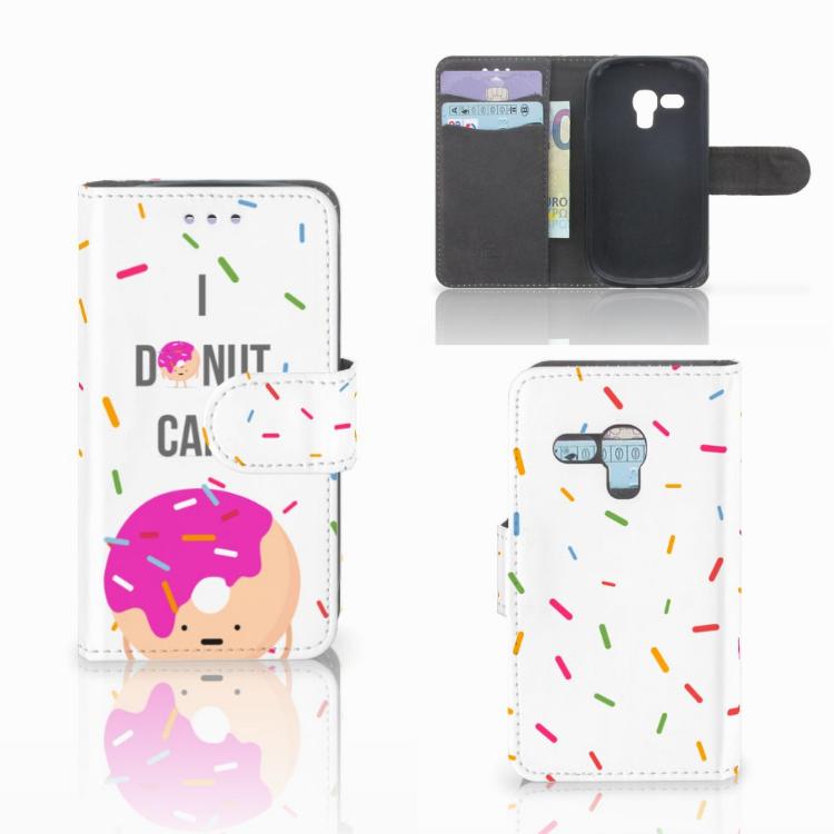 Samsung Galaxy S3 Mini Book Cover Donut Roze