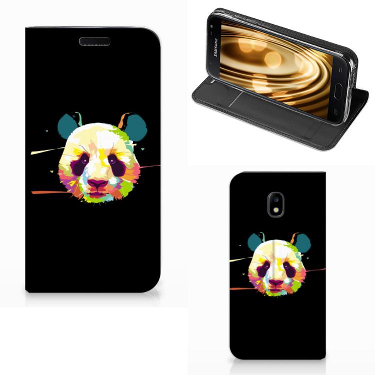 Samsung Galaxy J3 2017 Magnet Case Panda Color