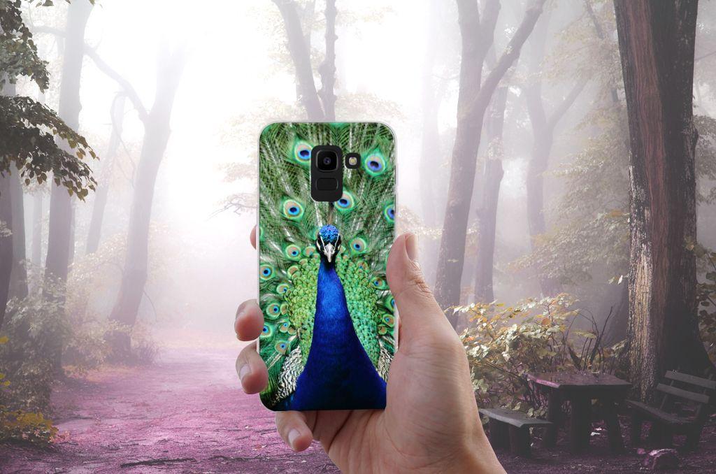 Samsung Galaxy J6 2018 TPU Hoesje Design Pauw