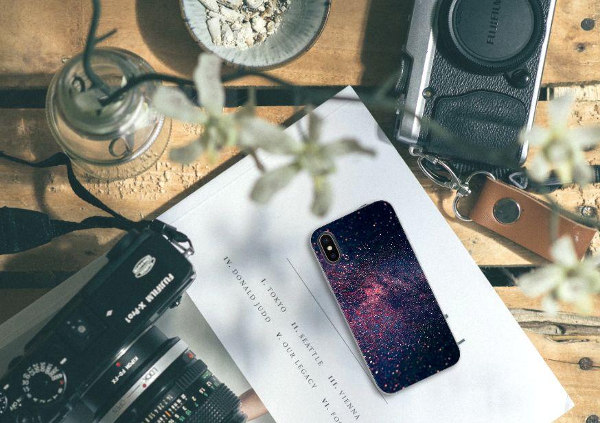 Apple iPhone X | Xs TPU Hoesje Stars