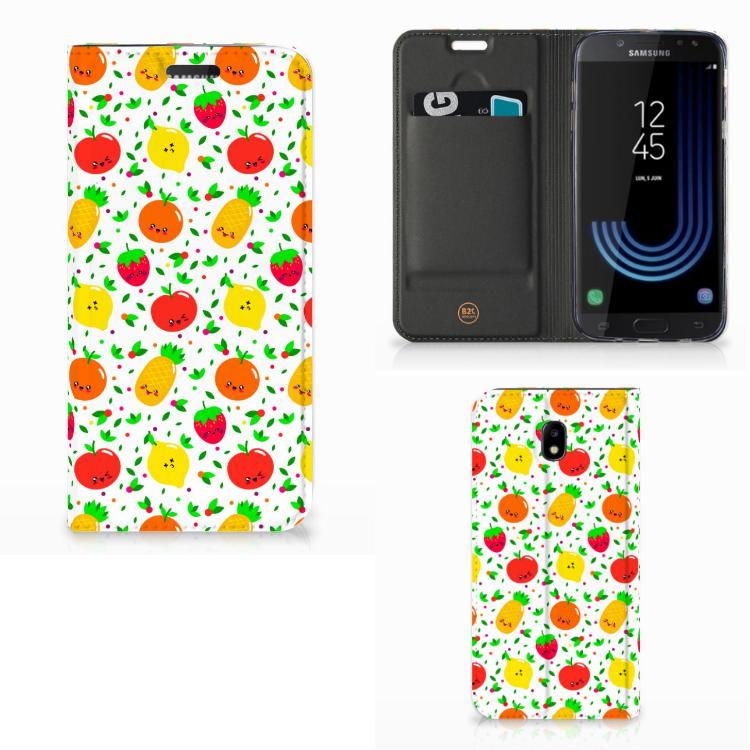 Samsung Galaxy J5 2017 Flip Style Cover Fruits
