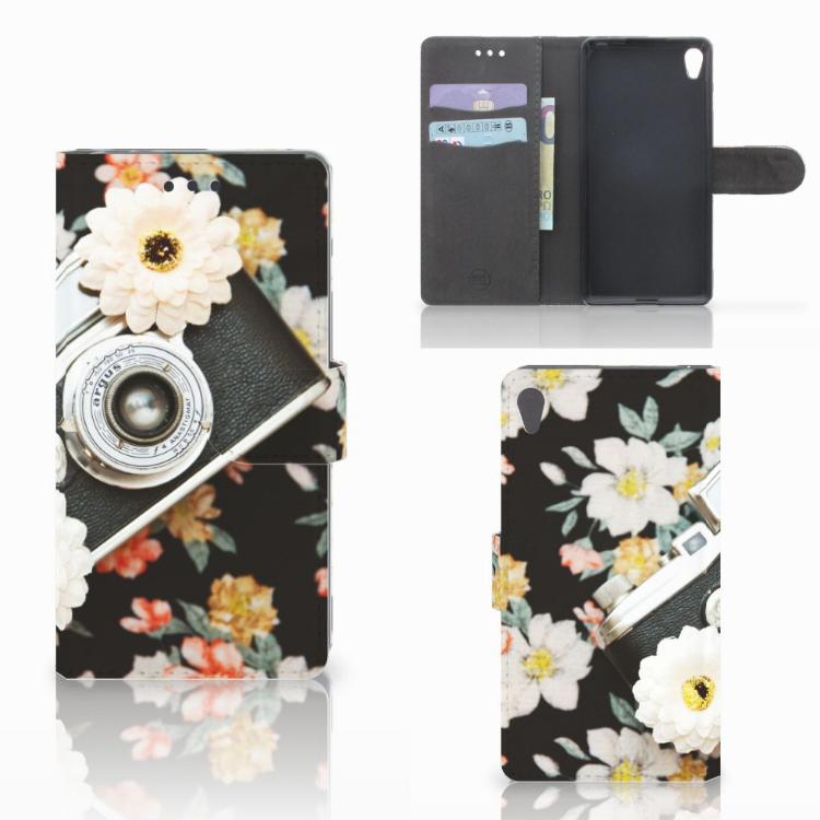 Sony Xperia E5 Telefoonhoesje met foto Vintage Camera