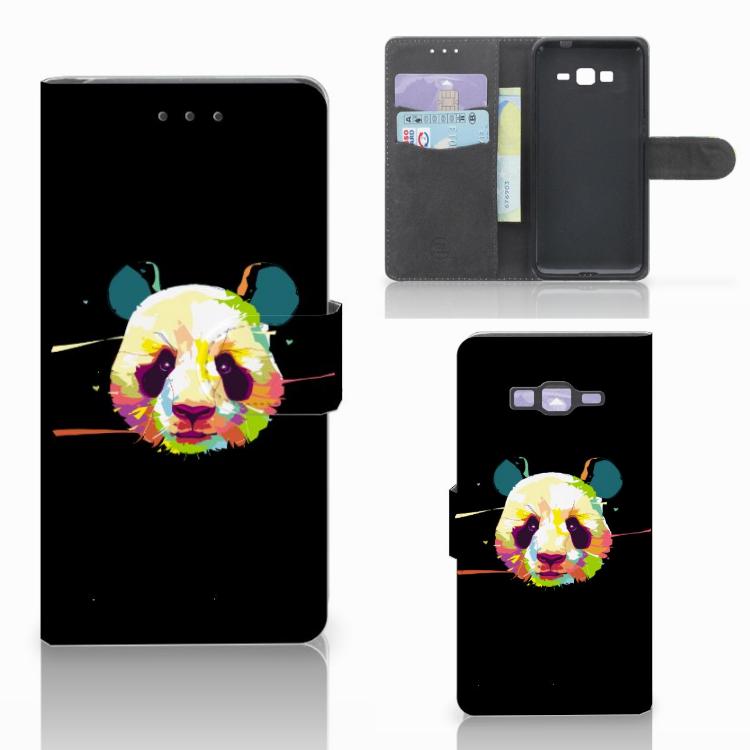 Samsung Galaxy Grand Prime | Grand Prime VE G531F Leuke Hoesje Panda Color