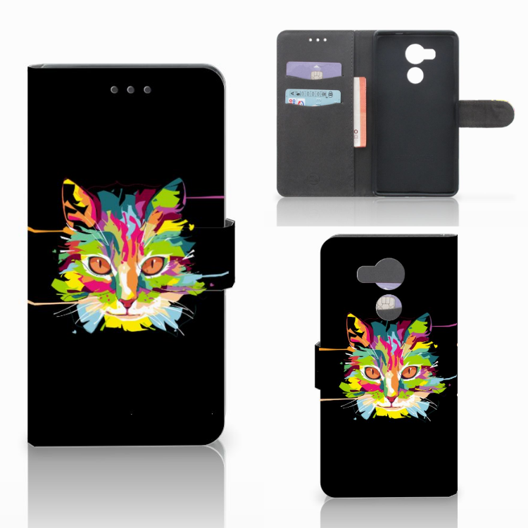 Huawei Mate 8 Leuke Hoesje Cat Color