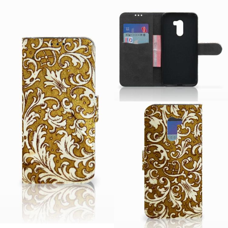 Wallet Case Xiaomi Pocophone F1 Barok Goud