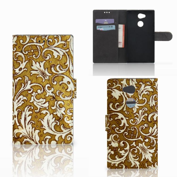 Wallet Case Sony Xperia L2 Barok Goud