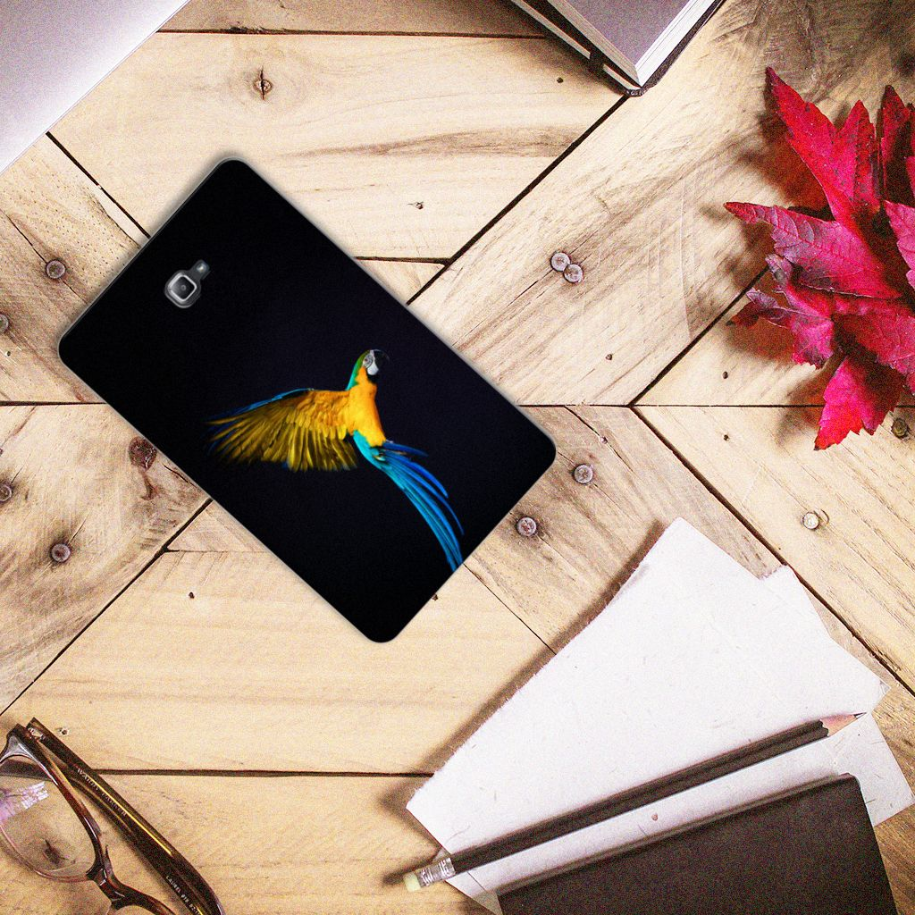 Samsung Galaxy Tab A 10.1 Back Case Papegaai