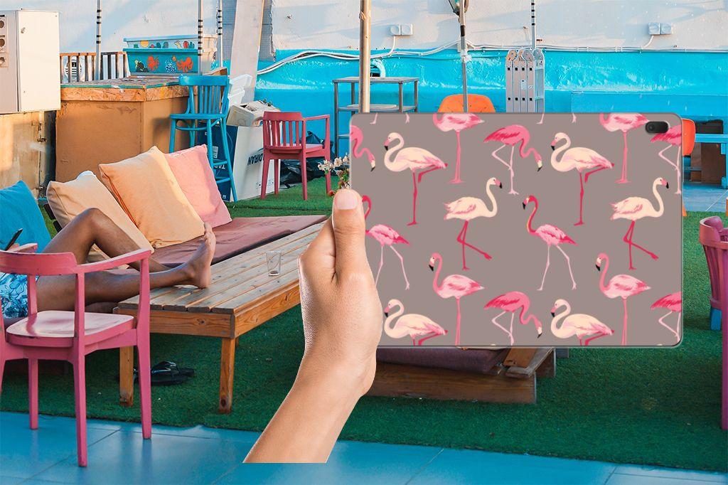 Lenovo Tab E10 Back Case Flamingo