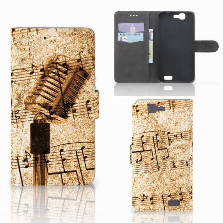 Huawei Ascend G7 Telefoonhoesje met foto Bladmuziek