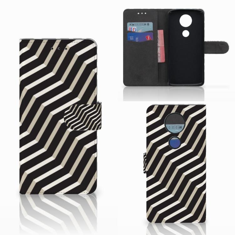 Motorola Moto E5 Plus Bookcase Illusion